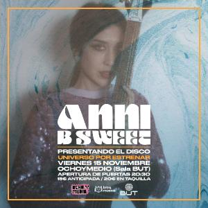 ANNI B SWEET PRESENTA EN MADRID